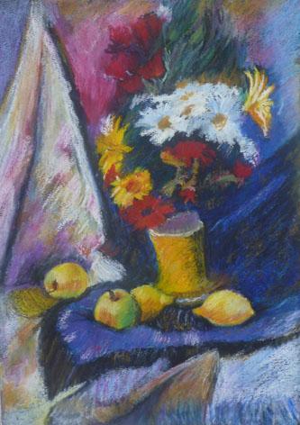 ...... dans Dessin - Pastel à l'huile, Pastel sec p1040398